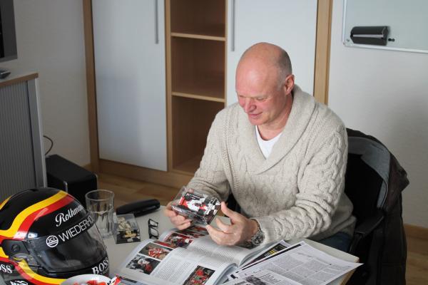 Goa Bellof im Interview zur McLaren Testfahrt seines Bruders Stefan Bellof   © Stefan Bellof Official