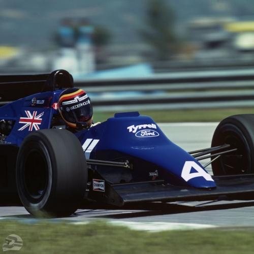 GP Brasilien 84, Tyrrell 012 | © Ferdi Kräling Motorsport-Bild GmbH