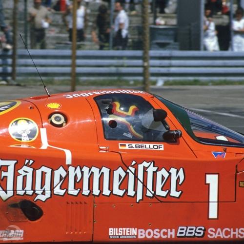 Brun Jägermeister-Porsche | © Michael Schäfer, Hüttenberg