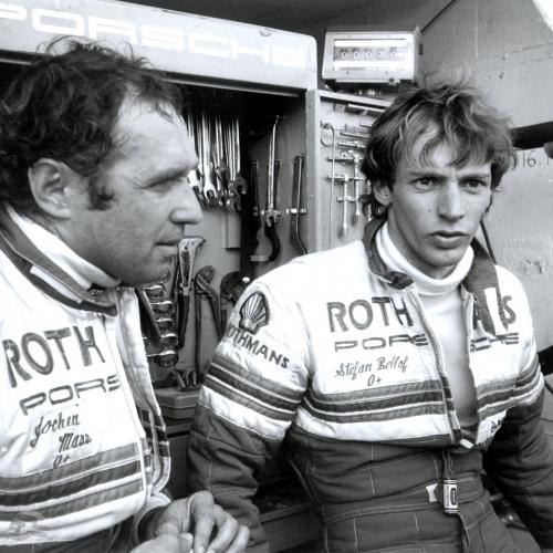 1984 1983 Rennen Le Mans, Jochen Mass und Stefan Bellof | © Porsche AG