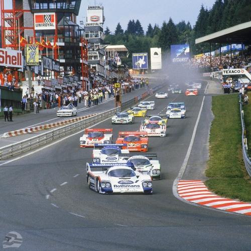 Rennen 1000 km Spa 1984 Start | © Porsche AG