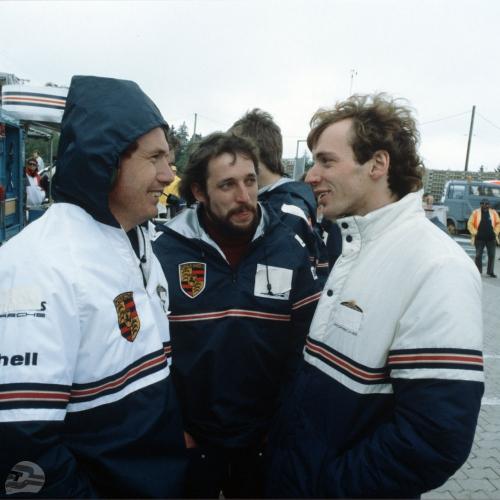 Nürburgring 1983, Bischof, Schmidt, Bellof | © Porsche AG