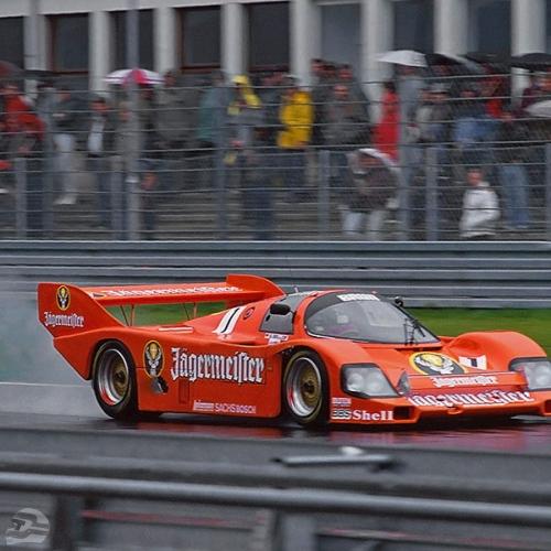 DRM Nürburgring 1984 im Brun Jägermeister-Porsche | © Michael Schäfer, Hüttenberg