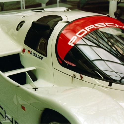 Porsche 956, Ausstellung | © Familie Bellof