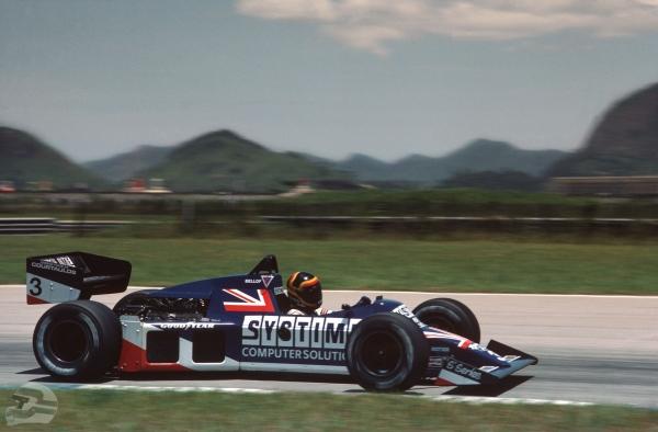 Rio 84, Tyrrell 012, erstes F1 Rennen   © Ferdi Kräling Motorsport-Bild GmbH