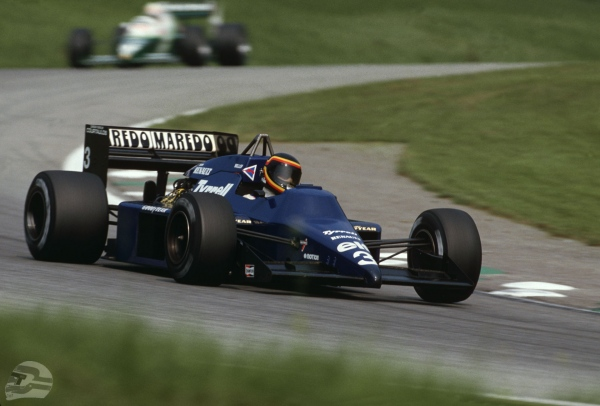 GP Österreich 1985, Tyrrel 014   © Ferdi Kräling Motorsport-Bild GmbH