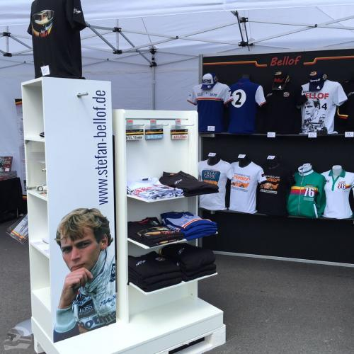 Stefan Bellof Shop beim Solitude Revival 2017 | © Stefan Bellof Official