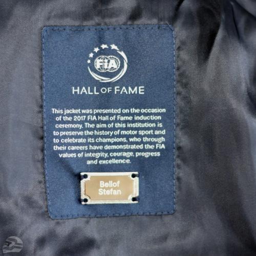 FIA Hall of Fame Jacke mit Stefan Bellof Emblem | © Stefan Bellof Official
