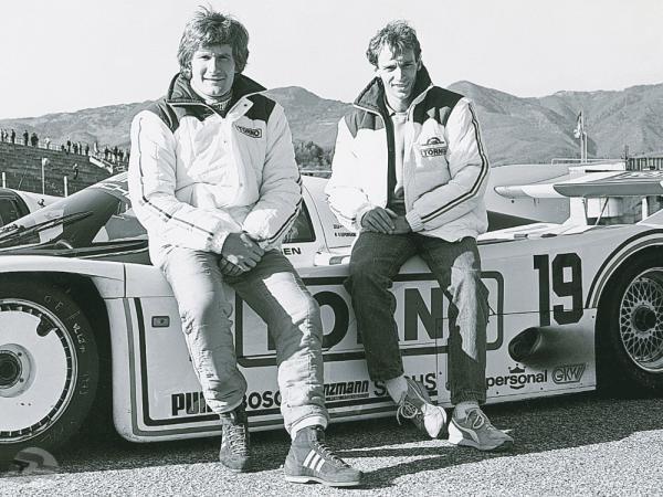 Stefan Bellof (li) und Thierry Boutsen (re.), | © Porsche AG Scene