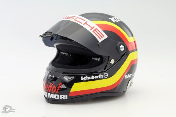 T. Bernhard Porsche 919 Hybrid WEC 2015 Tribute S. Bellof Memorial helmet