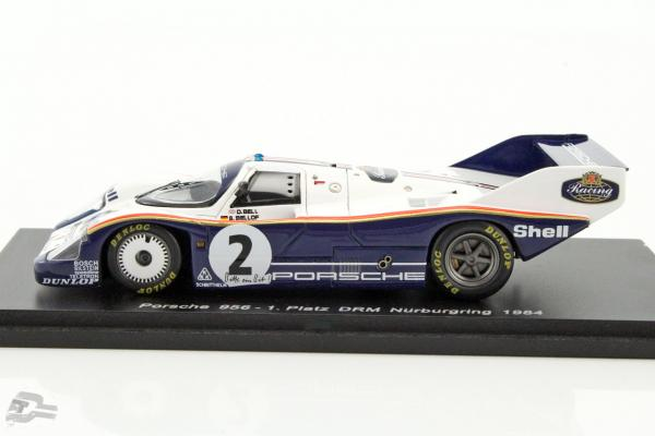 Porsche 956 #2 Winner DRM Nürburgring 1984 Bellof, Bell