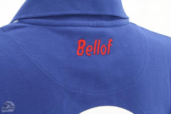 Stefan Bellof Polo Shirt record lap 6:11.13 min blue / white