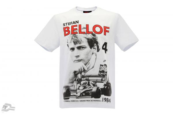 Stefan Bellof T-shirt Podium GP monaco 1984 white / red / black