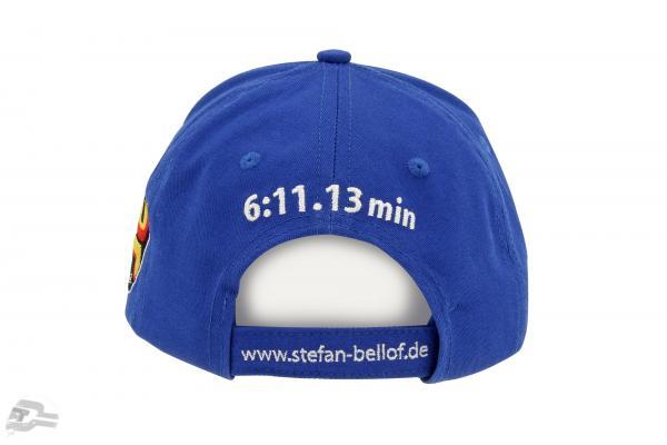 Stefan Bellof Cap Rekordrunde 6:11.13 min blau / weiß