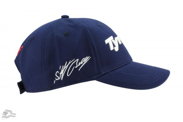 Stefan Bellof Cap Tyrrell Racing #4  blue / white