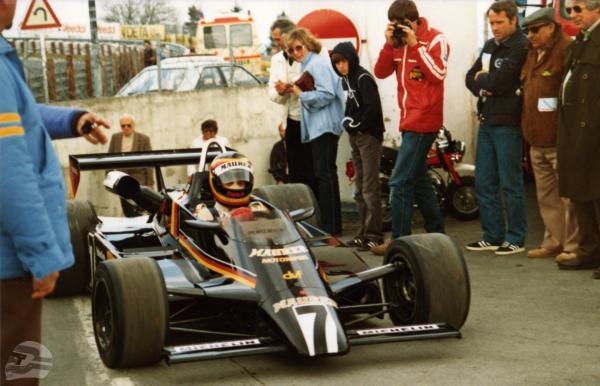 Formel 2: Eifelrennen 1982, Maurer BMW | © Stefan Bellof Official