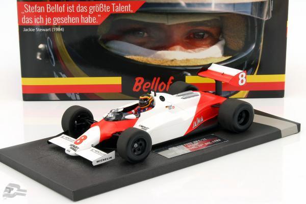 Stefan Bellof McLaren Ford MP4/1C #8 Test Silverstone GP F1 1983