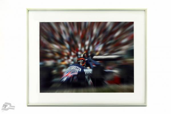 Image: Stefan Bellof F1 format 40 x 50 cm inkl. Rahmen