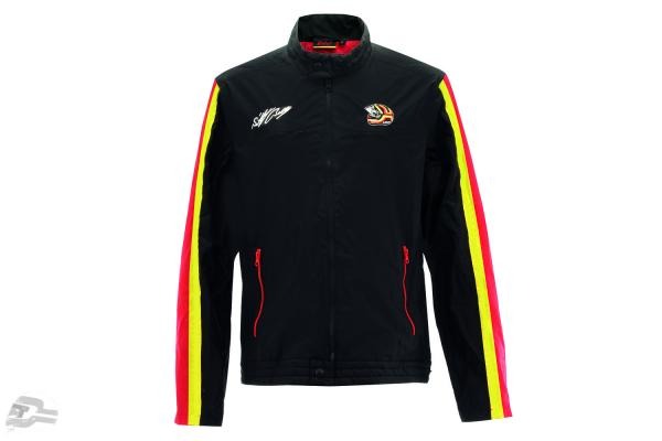 Stefan Bellof Racing jacket helmet black / red / yellow
