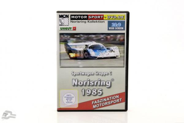 Norisring 1985 sports car group C DVD