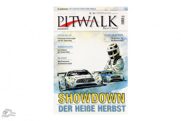 PITWALK magazine Nr.39 memories to the 60. birthday from Stefan Bellof