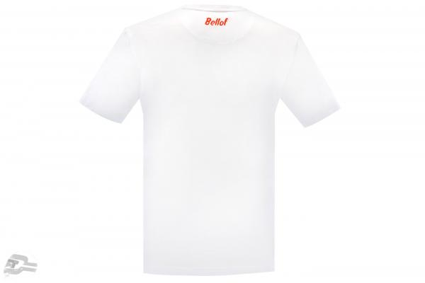 Stefan Bellof T-Shirt Rekordrunde 6.11,13 min mit Frontprint weiß