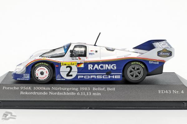 Porsche 956K #2 Rekordrunde Nordschleife 6.11,13 min 1000km Nürburgring 1983 Bellof, Bell