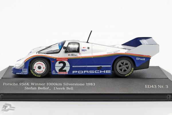 Porsche 956K #2 Winner 1000km Silverstone 1983 Bellof, Bell
