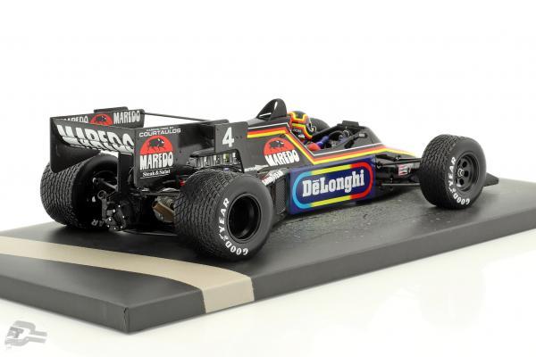 Stefan Bellof Tyrrell 012 #4 Monaco GP formula 1 1984 with Cap