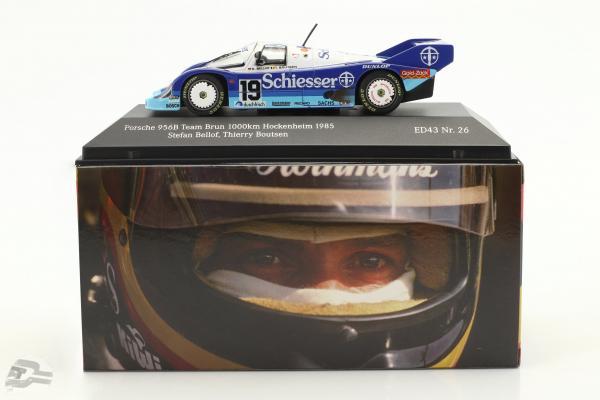 Porsche 956B Team Brun #19 1000km Hockenheim 1985 Bellof, Boutsen