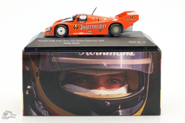 Porsche 956 Brun #1 3rd 200 Meilen Norisring 1984 Stefan Bellof