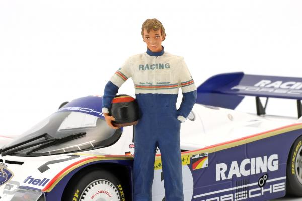 Stefan Bellof Fahrerfigur mit Helm  FigurenManufaktur