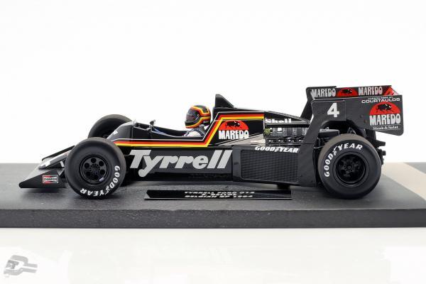 Stefan Bellof Tyrrell Ford 012 #4 Belgien GP Formel 1 1984