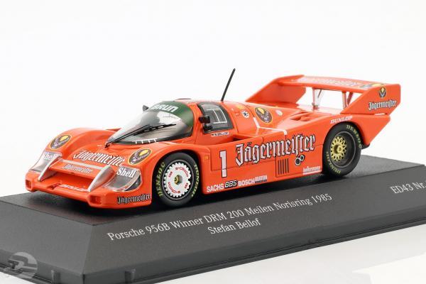 Porsche 956B Brun #1 Winner DRM 200 Meilen Norisring 1985 Stefan Bellof