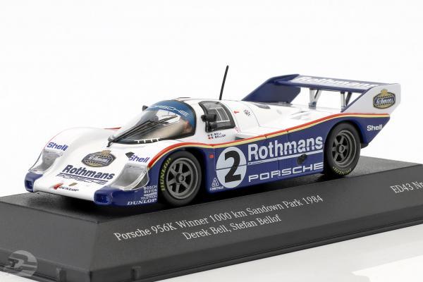 Porsche 956K #2 Winner 1000km Sandown Park 1984 Bellof, Bell 1:43 CMR