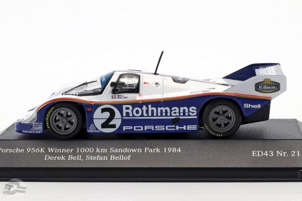 Porsche 956K #2 Winner 1000km Sandown Park 1984 Bellof, Bell