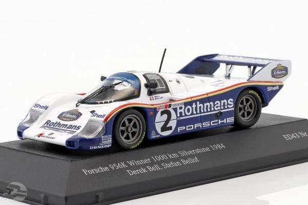 Porsche 956K #2 Winner 1000km Silverstone 1984 Bellof, Bell
