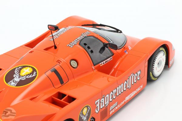 Porsche 956K Brun #1 3rd 200 Meilen Norisring 1984 Stefan Bellof