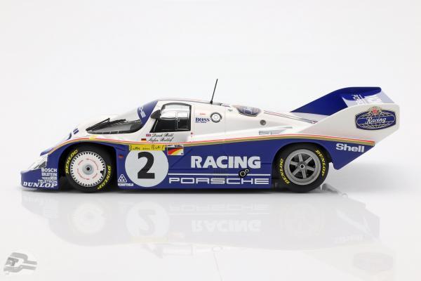 Porsche 956K #2 Rekordrunde 1000km Nürburgring 1983 Bellof, Bell