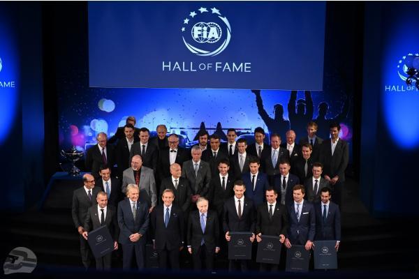 Gruppenbild FIA Hall of Fame | © FIA-Kommunikation, LAT, DPPI, McKlein