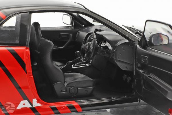 Nissan Skyline GT-R (R34) Advan Drift year 1999 black / red