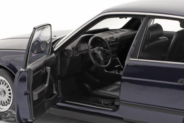 BMW 535i (E34) Baujahr 1988 blau metallic