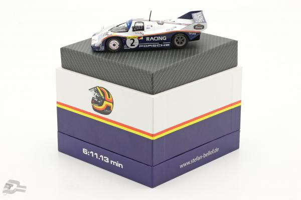 Porsche 956K #2 Record lap 1000km Nürburgring 1983 Bellof, Bell