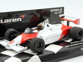 Stefan Bellof McLaren MP4/1C #8 Test Car Silverstone 1983 1:43 Minichamps