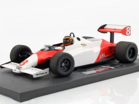 Stefan Bellof McLaren Ford MP4/1C #8 test Silverstone GP F1 1983 1:18 Minichamps