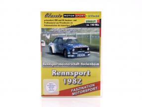 Rennsport 1982 Rennsportmeisterschaft Hockenheim DVD