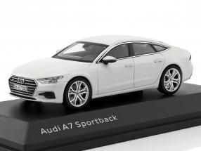 Audi A7 Sportback glacier white 1:43 iScale