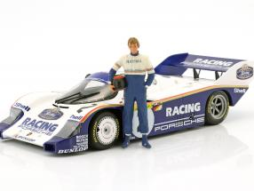 Stefan Bellof Driver figure with helmet 1:18 FigurenManufaktur