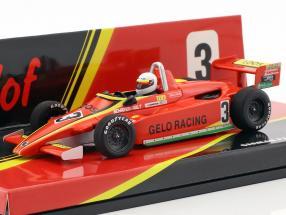 Stefan Bellof Ralt RT3 #3 formula 3 Championship 1981 1:43 Minichamps