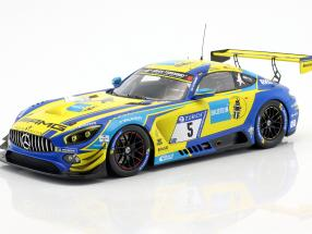 Mercedes-AMG GT3 #5 3rd 24h Nürburgring 2018 Team Black Falcon 1:18 Spark